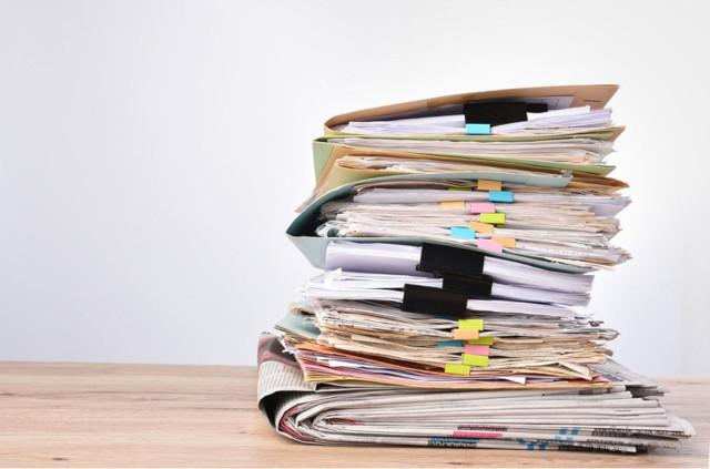 Опись передаваемых документов — образец